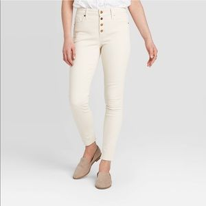 UNIVERSAL THREAD NWT high rise skinny ankle jean